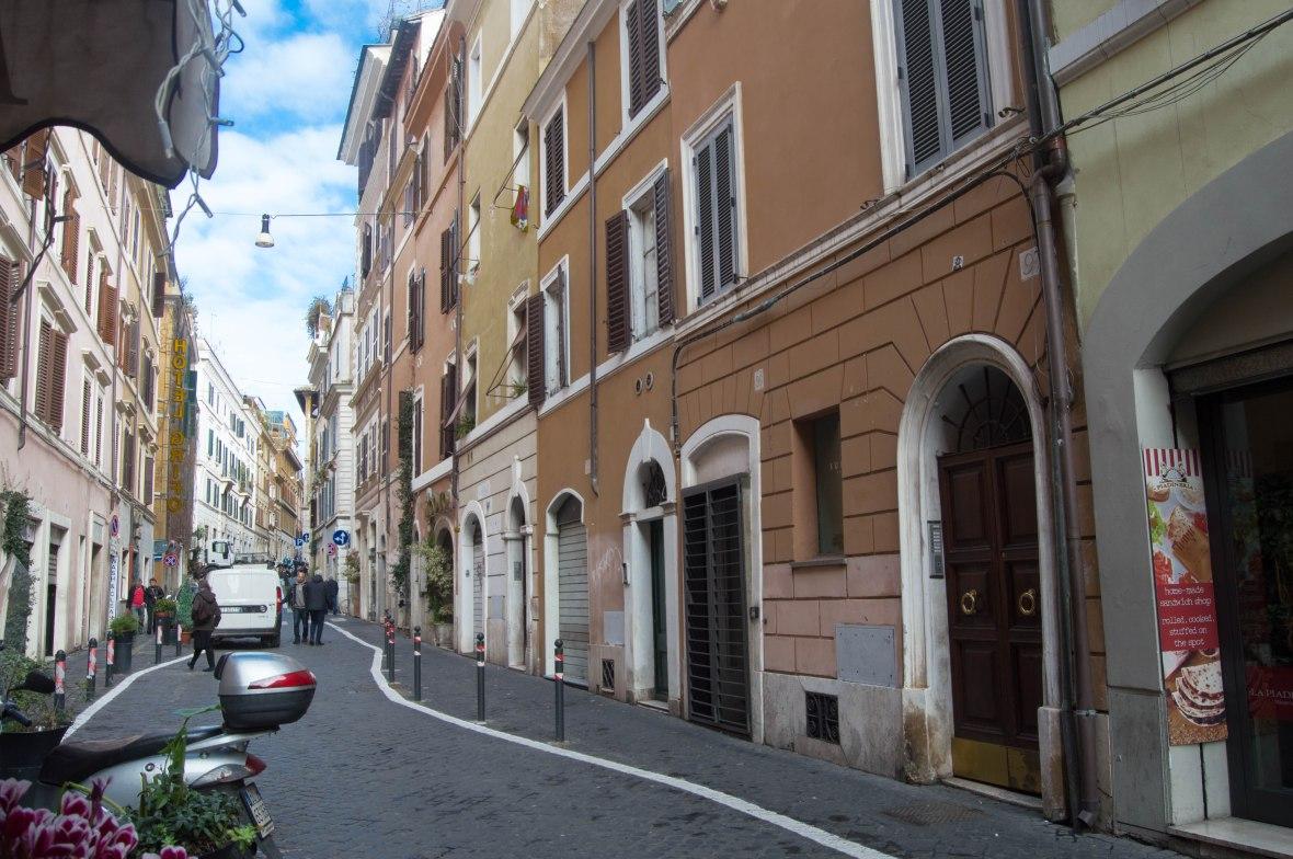 Via del Boschetto, Rome, Italy