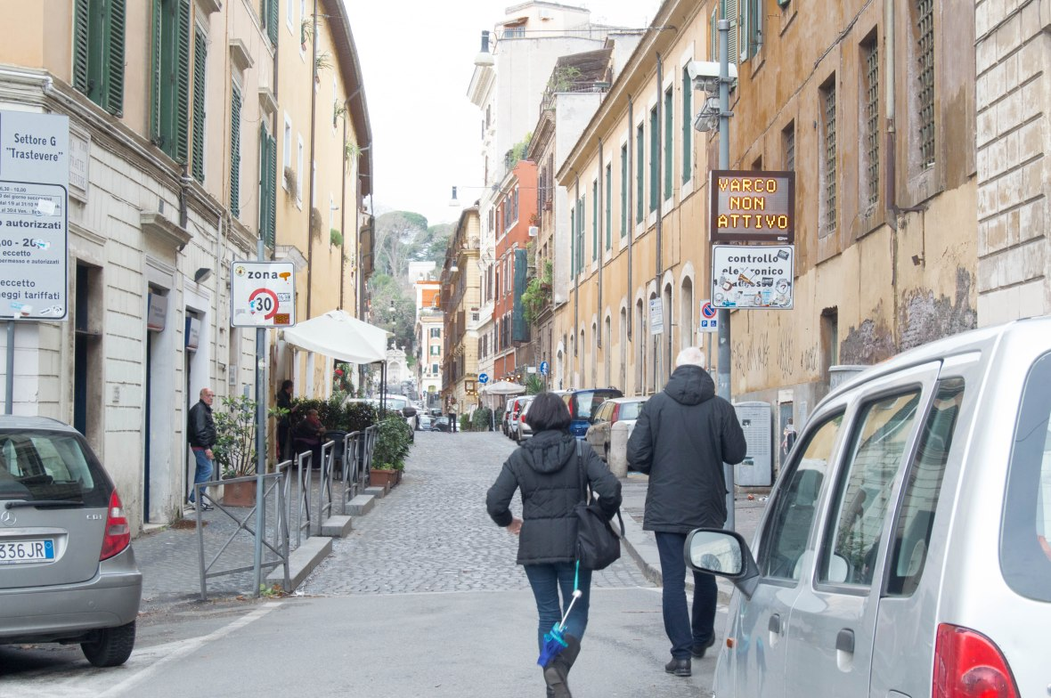 Via delle Fratte di Trastevere, Rome, Italy