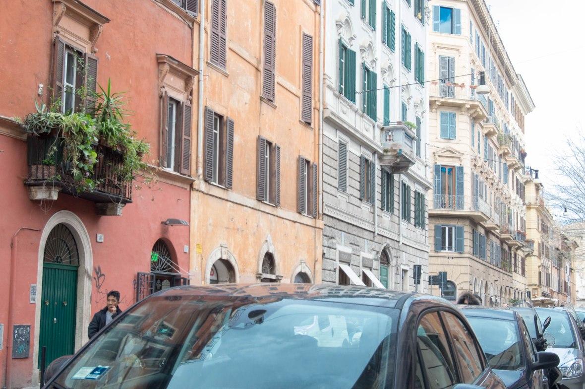 Via di S. Francesco a Ripa, Rome, Italy