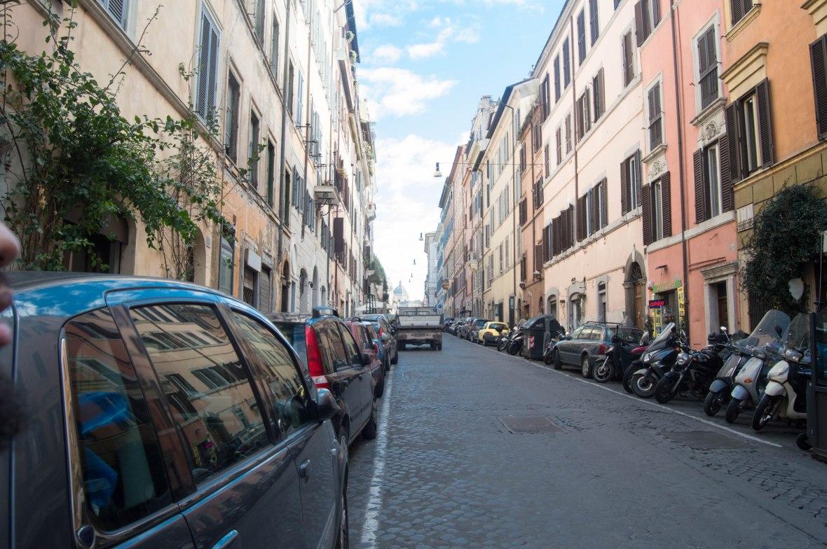 Via Panisperna, Rome, Italy