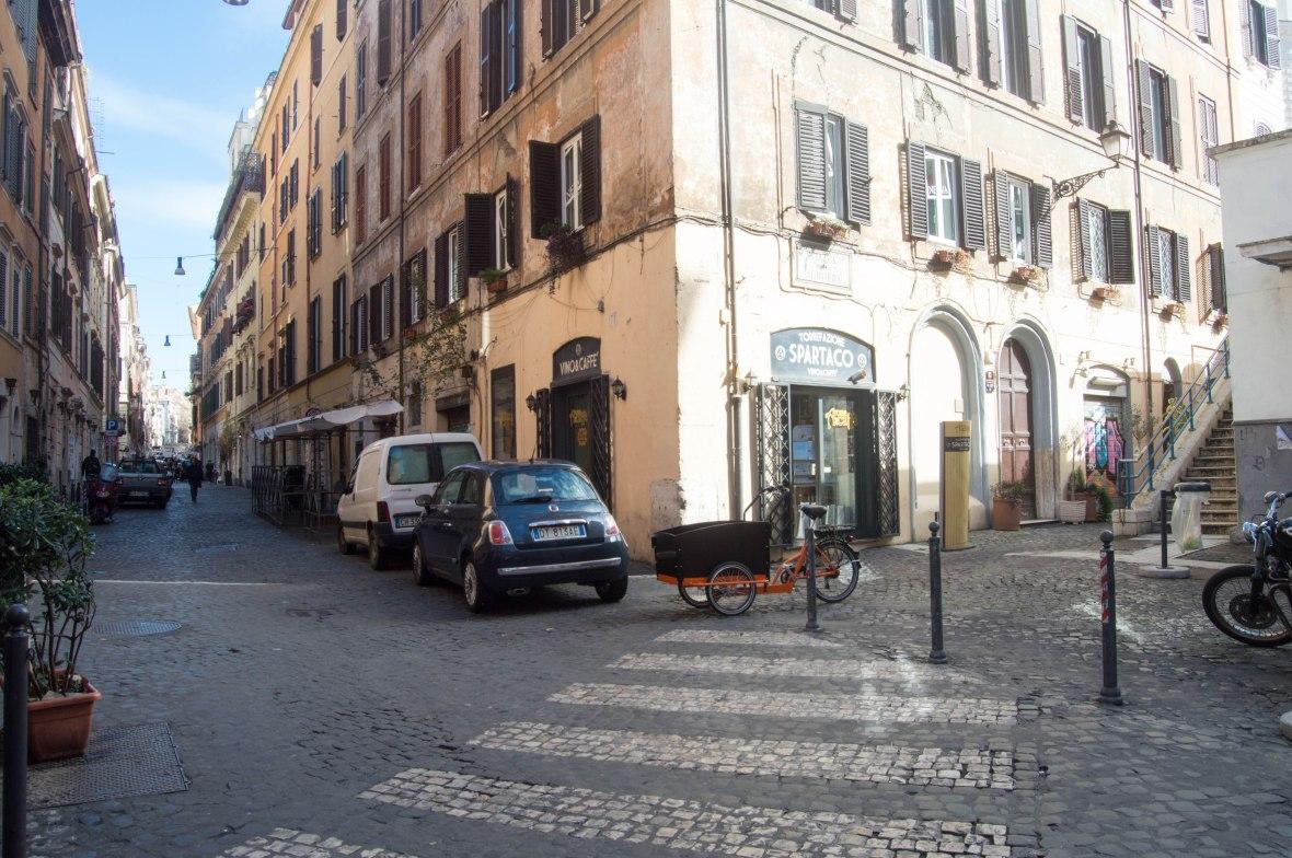 Via Urbana Corner, Rome, Italy