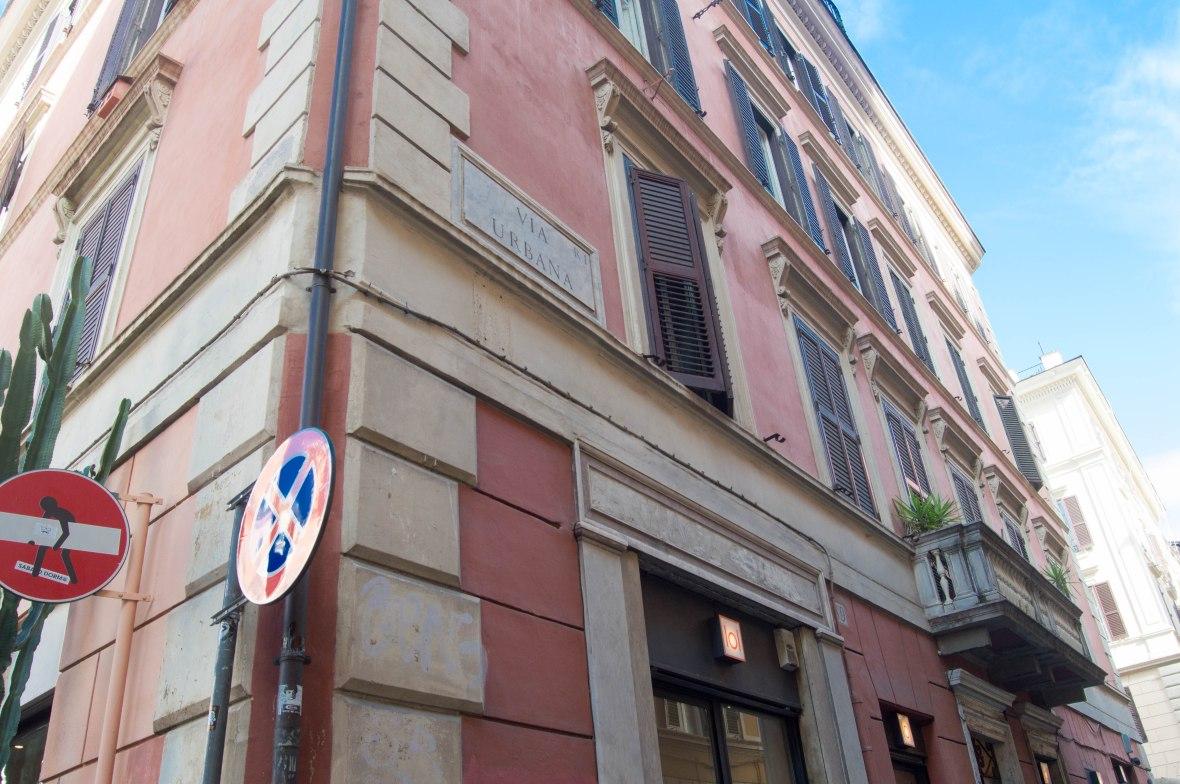 Via Urbana, Rome, Italy