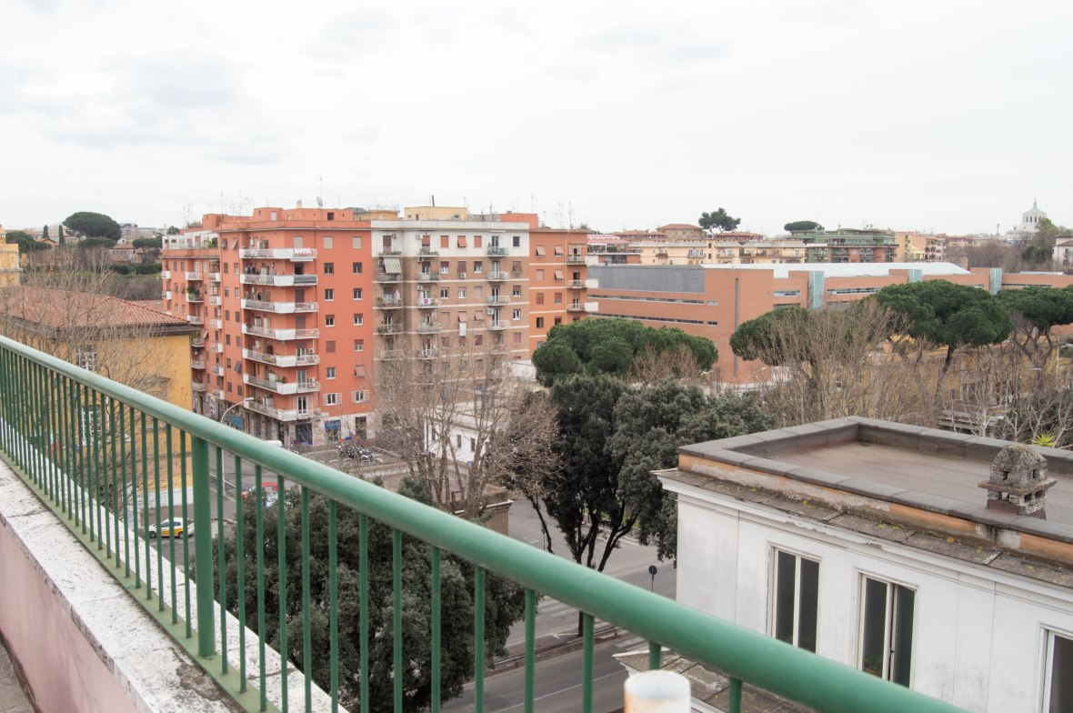 View From Air BnB Flat, Rome, Italy