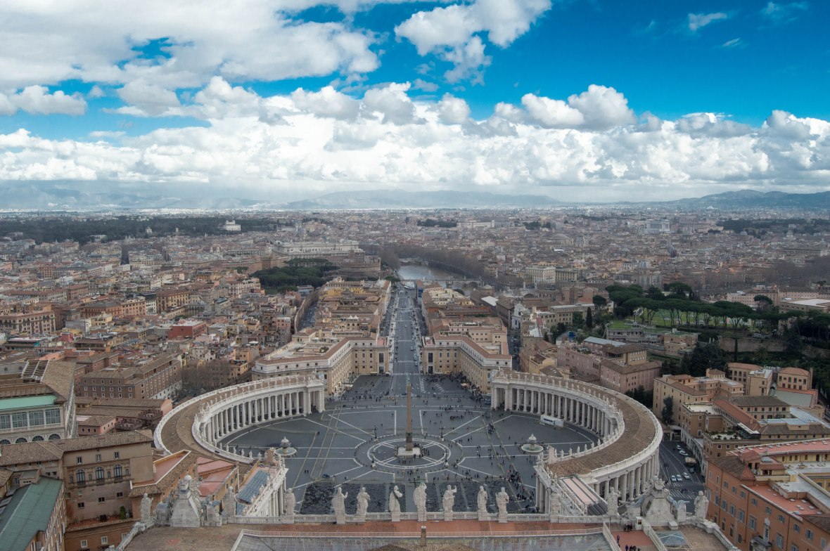 View From The Dome, Basilica Di San Pietro, Vatican