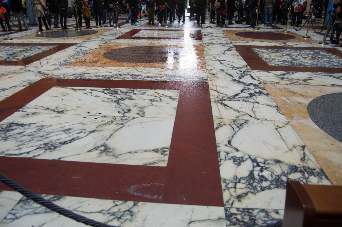 Wet Floor, Pantheon, Rome, Italy
