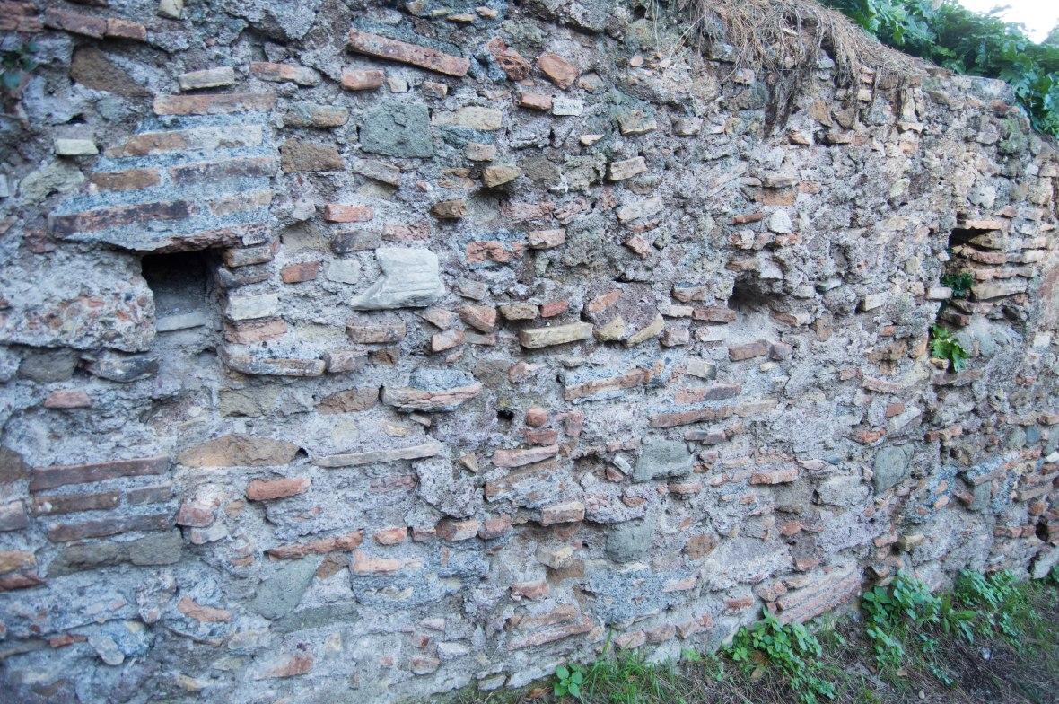 Brickwork, Palatine Hill, Rome, Italy