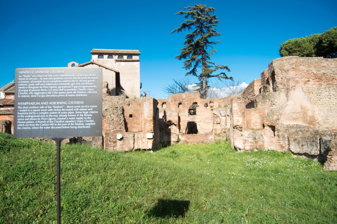 Cisterns, Palatine Hill, Rome, Italy