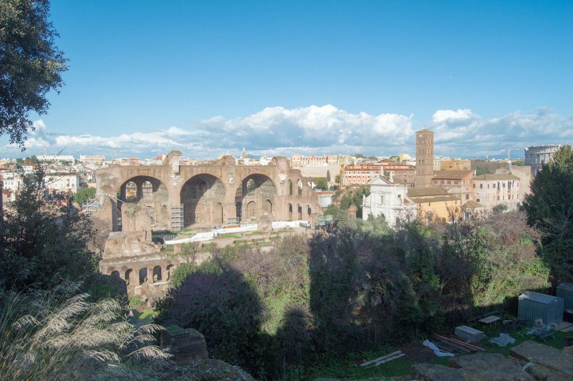 History, Palatine Hill, Rome, Italy