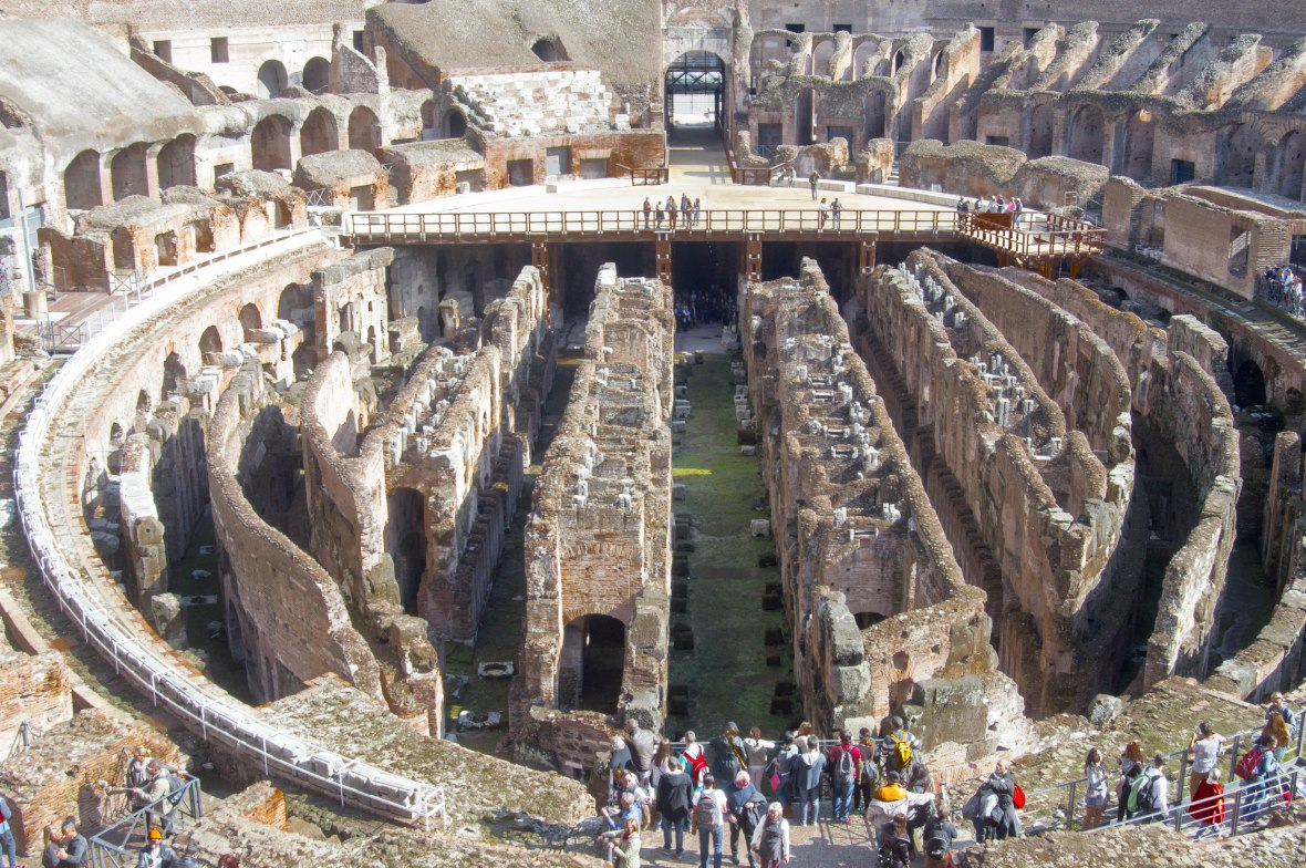Inside The Colosseum, Rome, Italy (2)