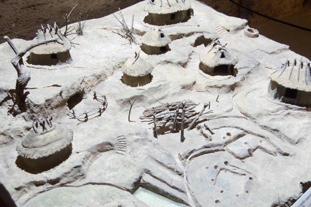 Model Huts, Palatine Hill, Rome, Italy