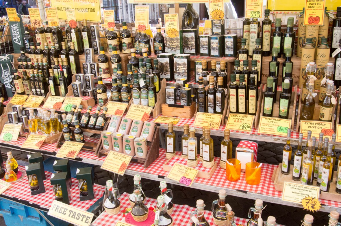 Oils And Vinegars, Campo de' Fiori, Rome, Italy