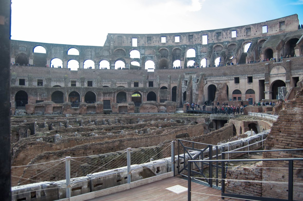 Side View, Colosseum, Rome, Italy