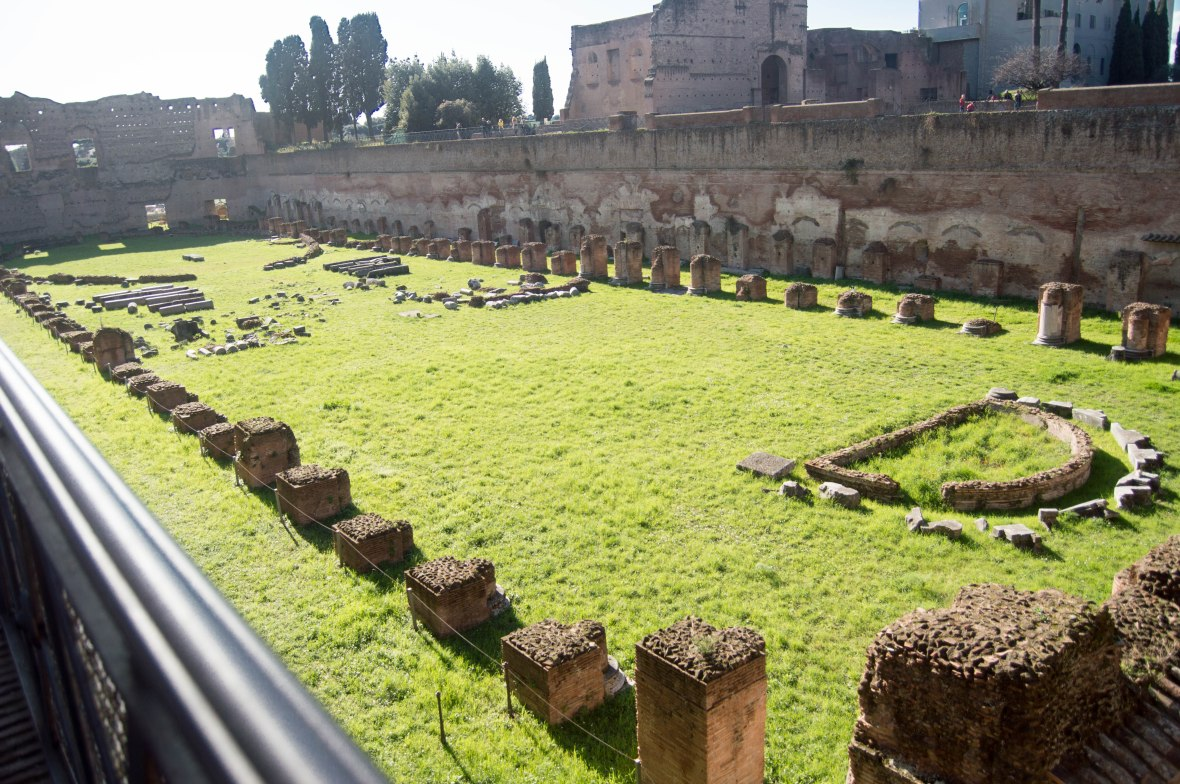 Stadium Of Domitian, Palatine Hill, Rome, Italy
