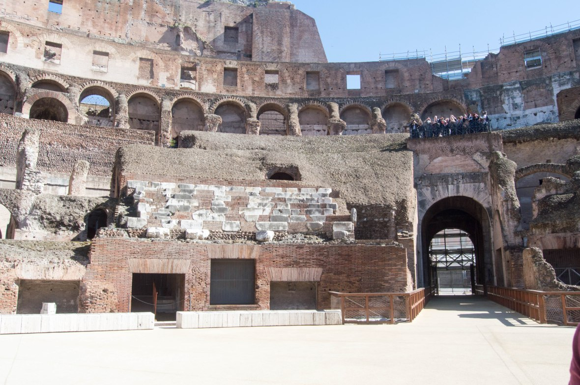 Stadium Seating, Colosseum, Rome, Italy