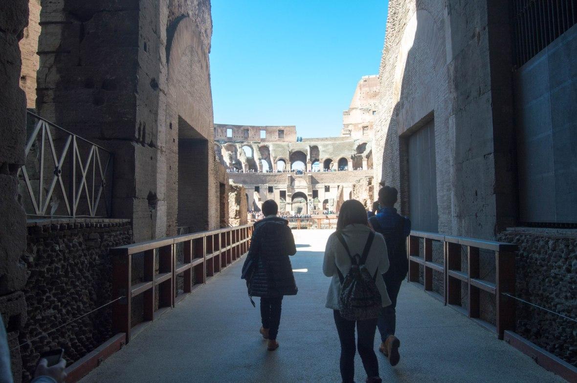 Tour, Colosseum, Rome, Italy