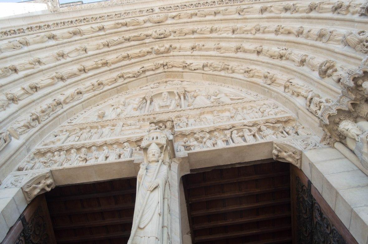 Arches, Notre Dame, Paris, France