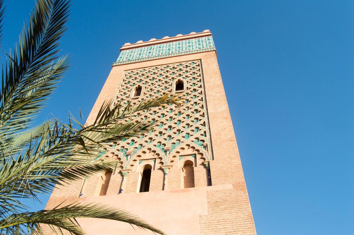 Architecture, Koutoubia Mosque, Marrakech, Morocco