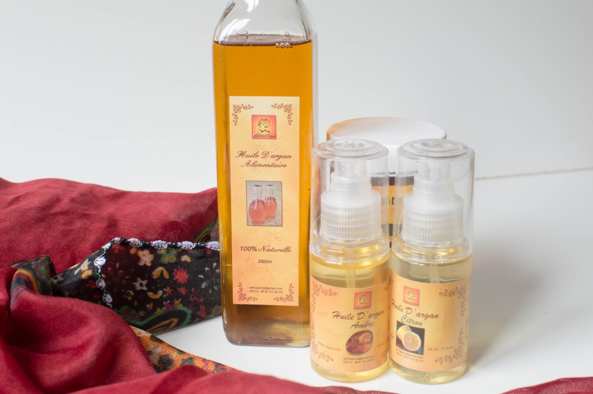 Argan Oils And Creams From Marrakech, Morocco