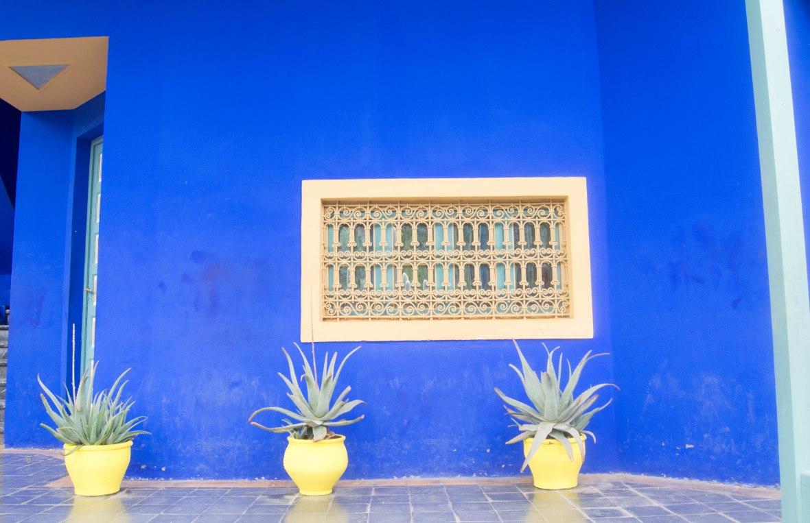 Blue Walls Majorelle Garden, Marrakech, Morocco