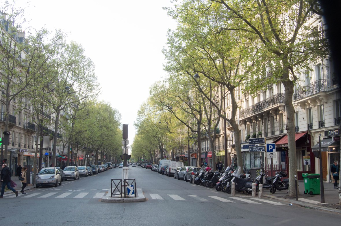 boulevard voltaire, Paris, France