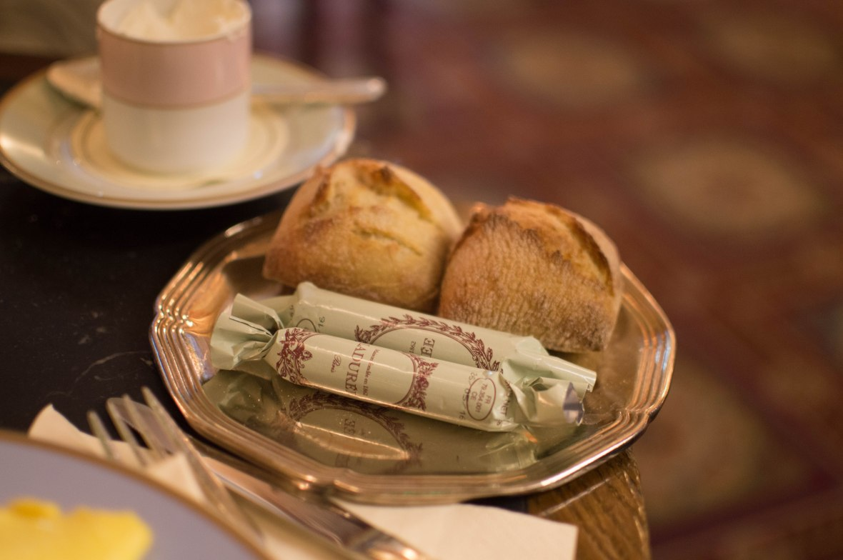 Bread And Butter, Laduree, Paris, France