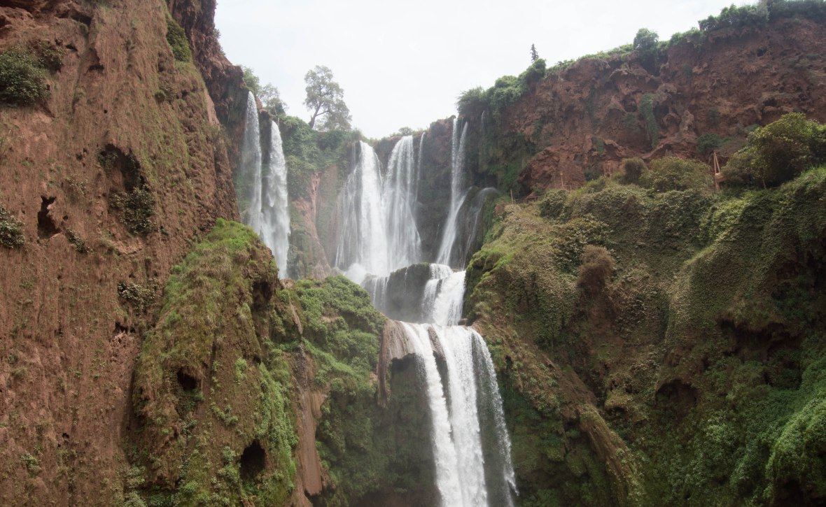 Cascades D'Ouzoud In Morocco