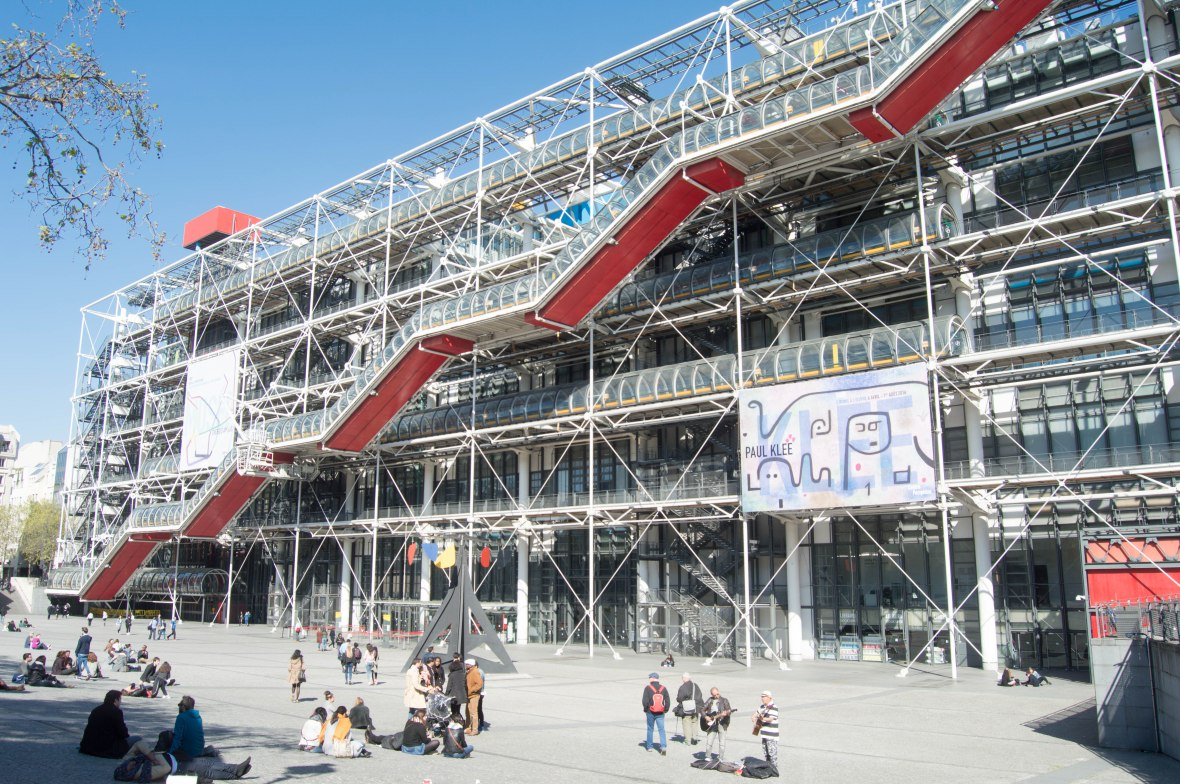 Centre de Pompidou, Paris, France