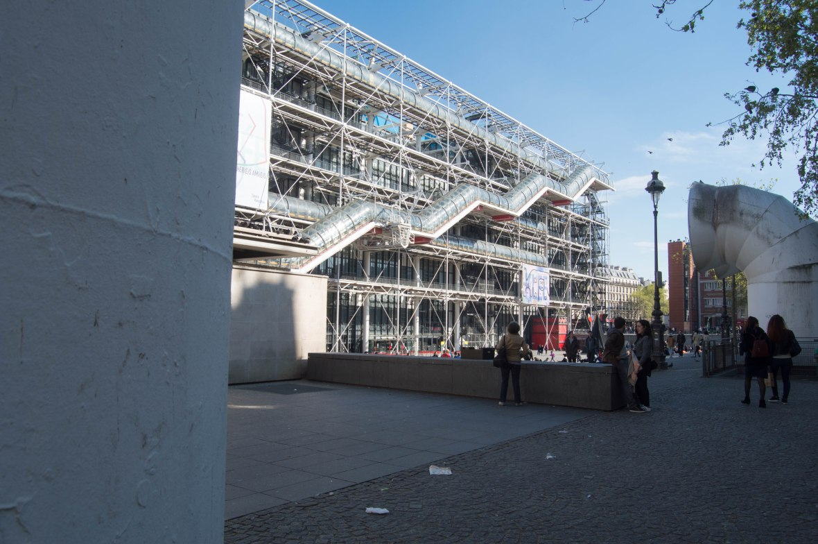 Centre Du Pompidou, Paris, France