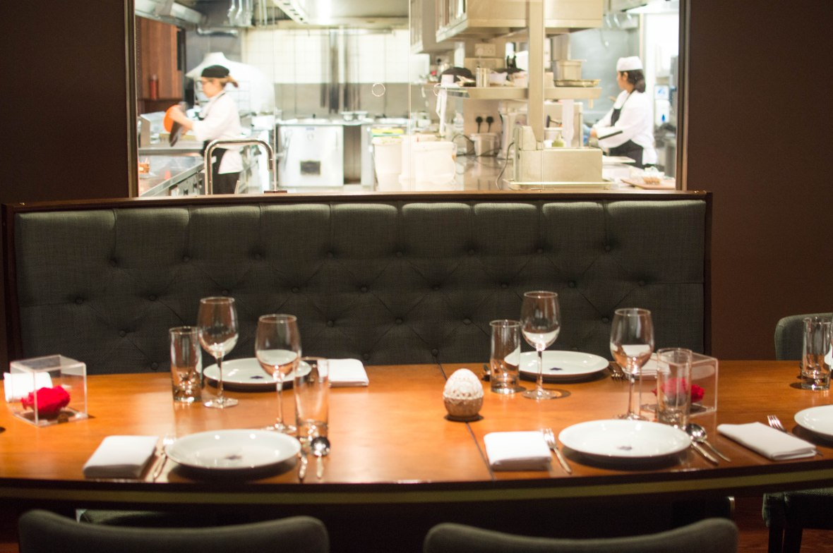Chef's Table, Darbaar Restaurant, London