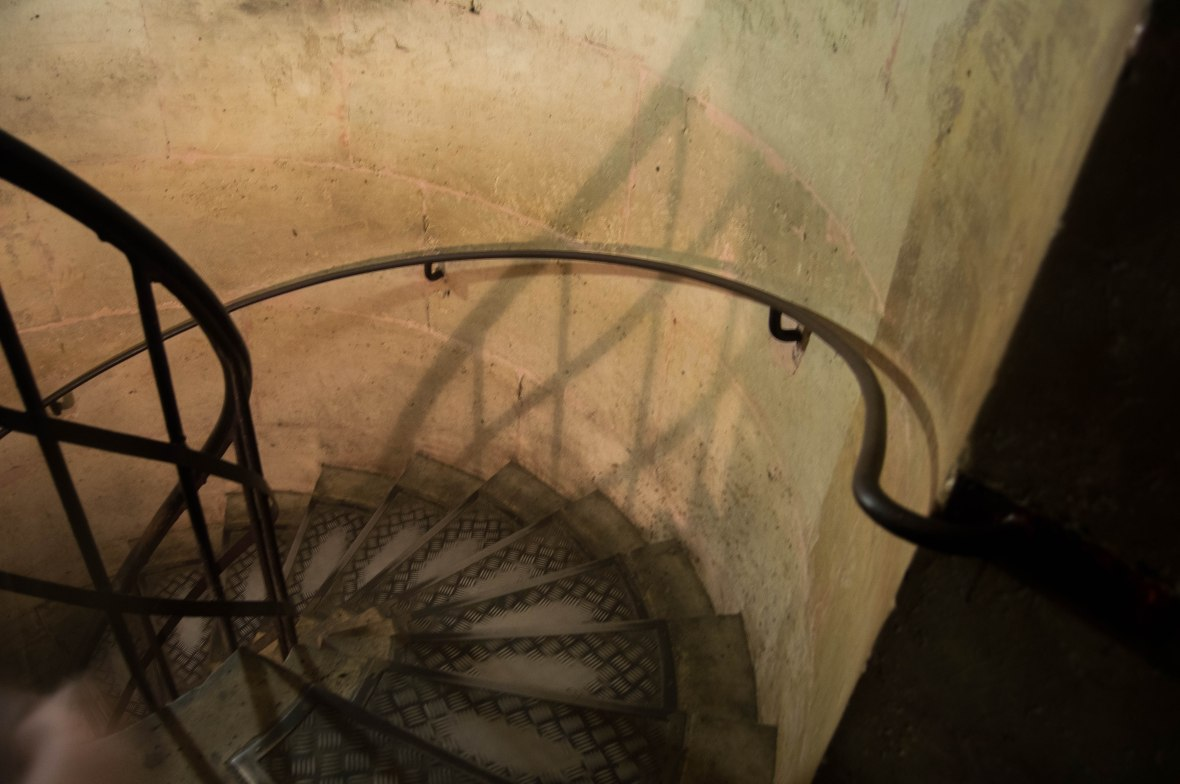 Circular Staircase, Arc De Triomphe, Paris, France