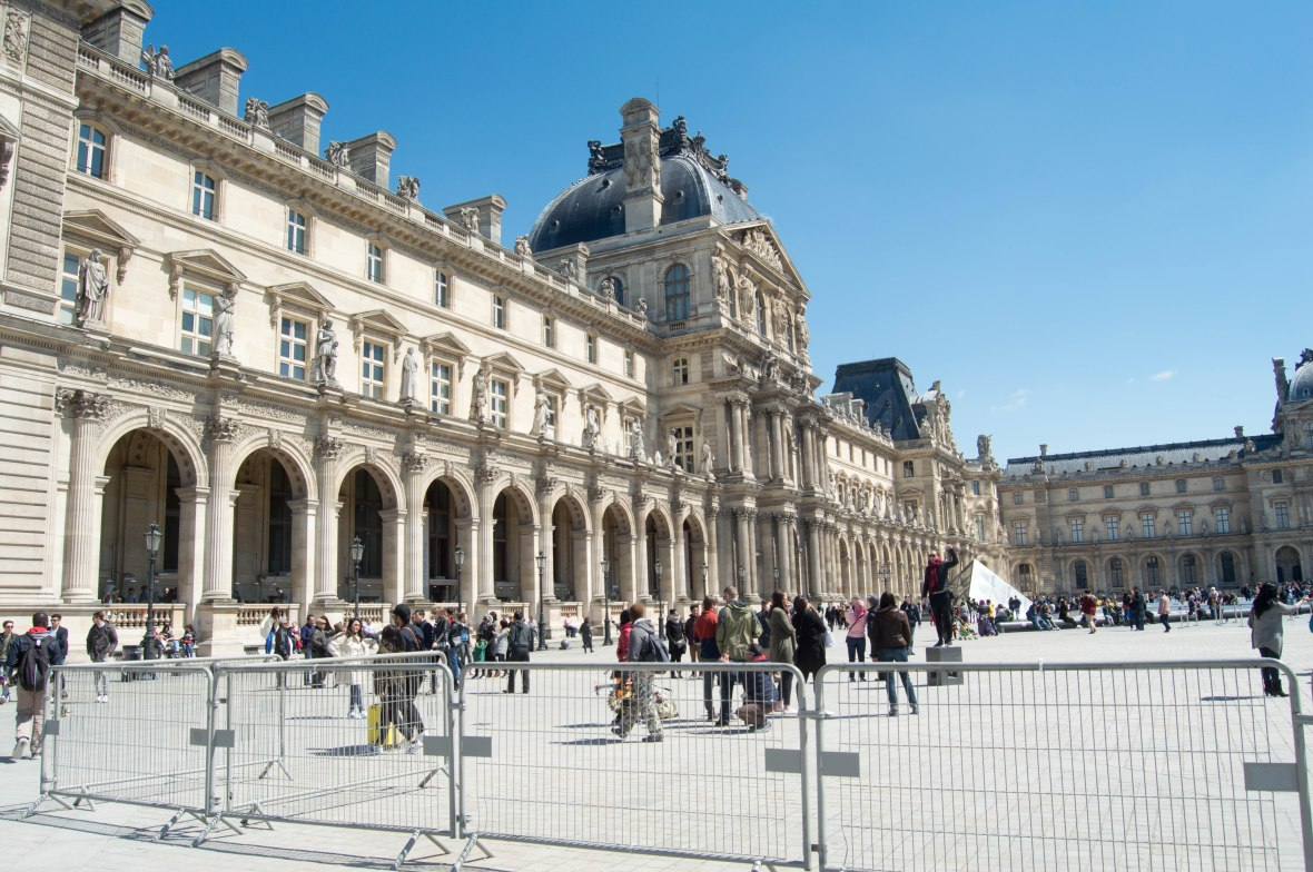 Cour Carrée, Paris, France