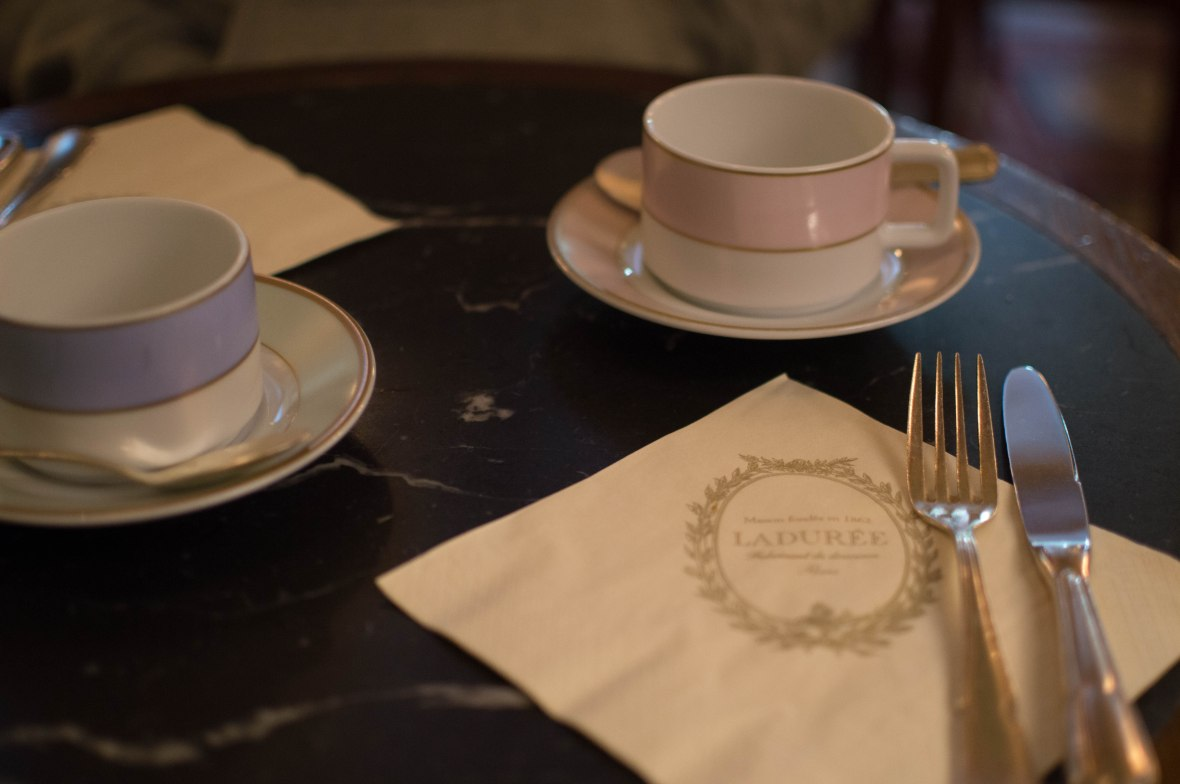 Cutlery, Laduree, Paris, France