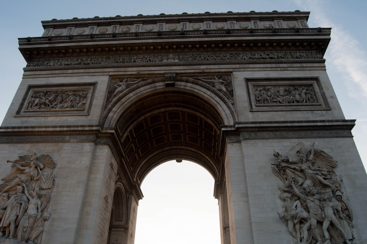 Detail, Arc De Triomphe, Paris, France