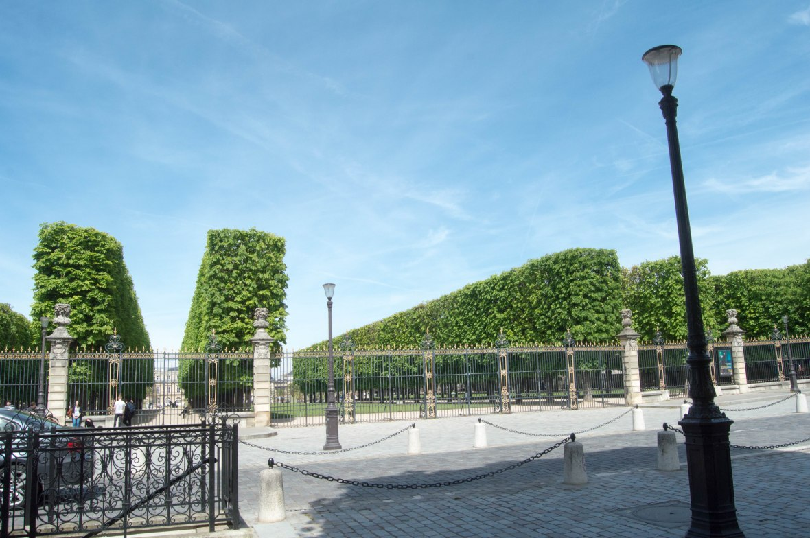 Entrance, Jardin du Luxembourg, Paris, France