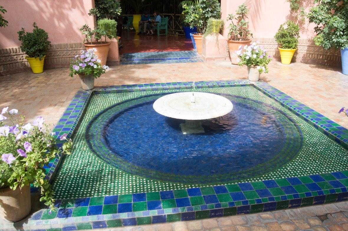 Entrance, Majorelle Garden, Marrakech, Morocco