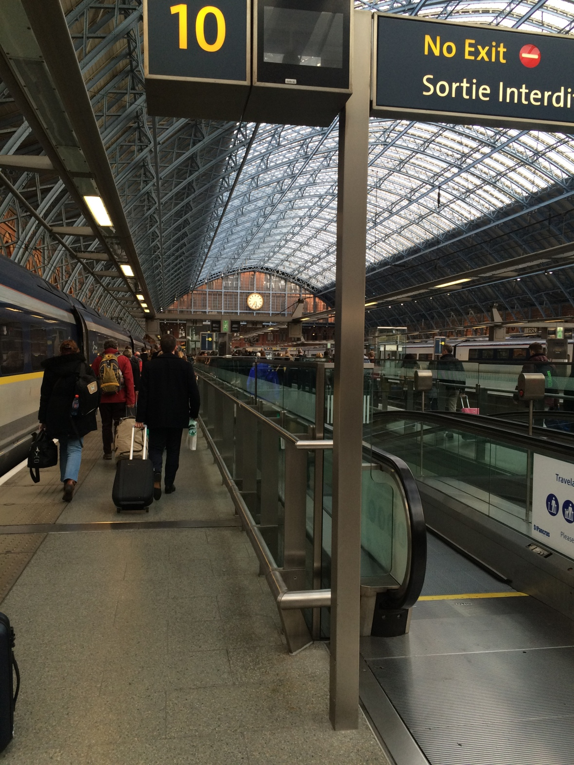 Eurostar Arrivals, Kings Cross, London