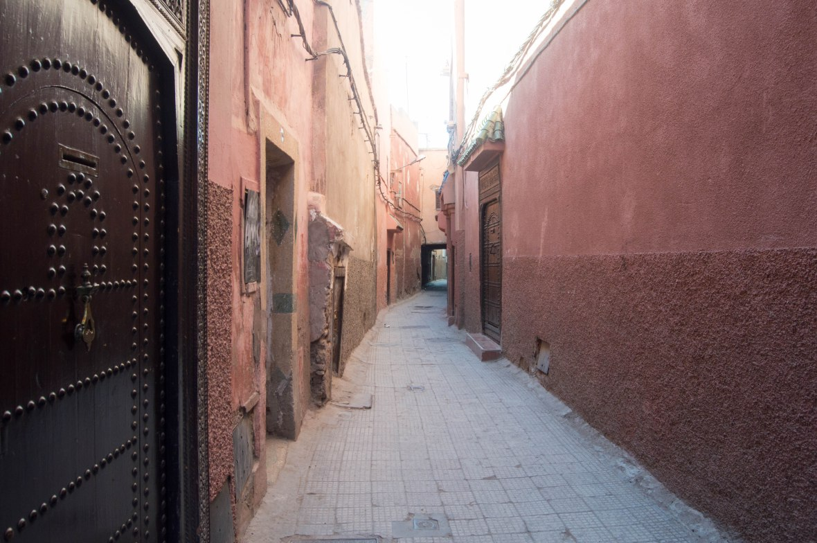 Exploring The Neighbourhood, Marrakech, Morocco