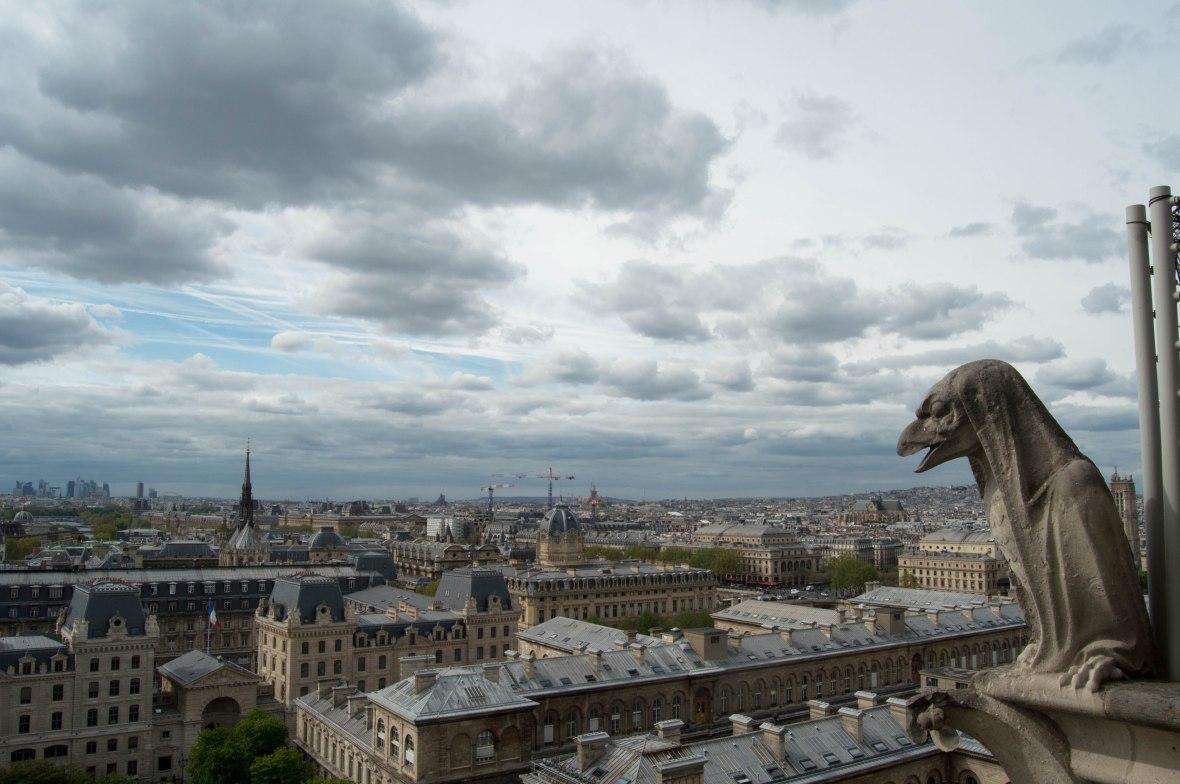 Gargoyle, Notre Dame, Paris