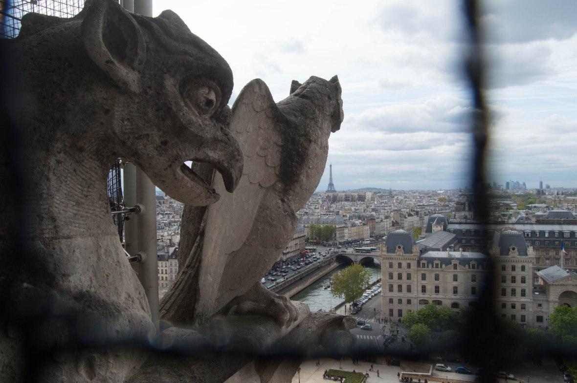 Gargoyles, Notre Dame, Paris, France
