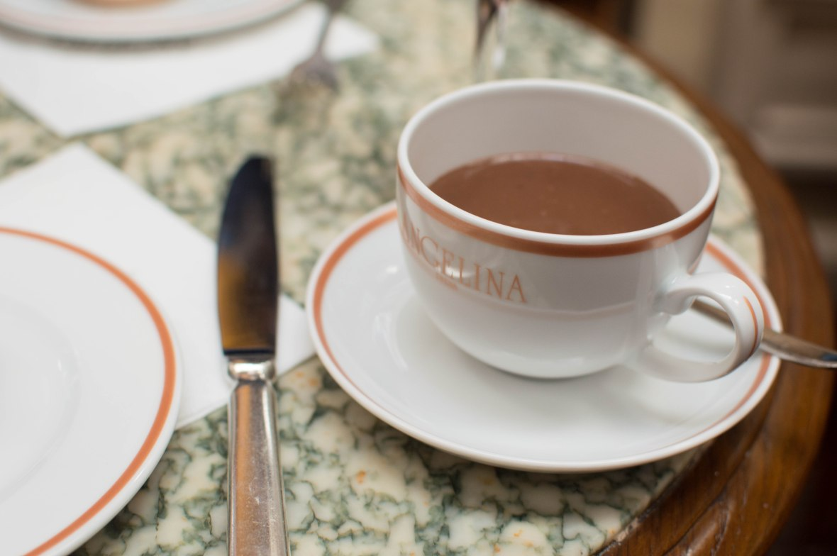 Hot Chocolate, Angelina, Paris, France