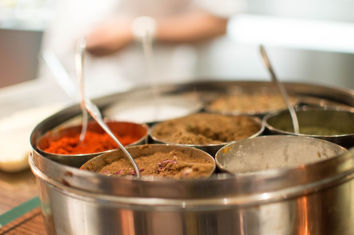 Indian Spice Tin, Darbaar Restaurant, London