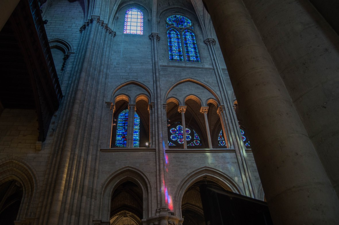 Inside, Notre Dame, Paris, France