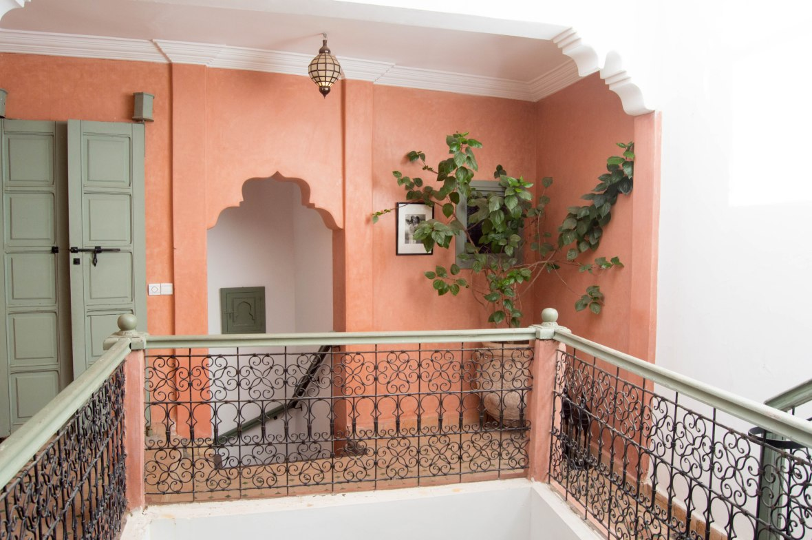 Inside The Riad, AirBnB, Marrakech, Morocco