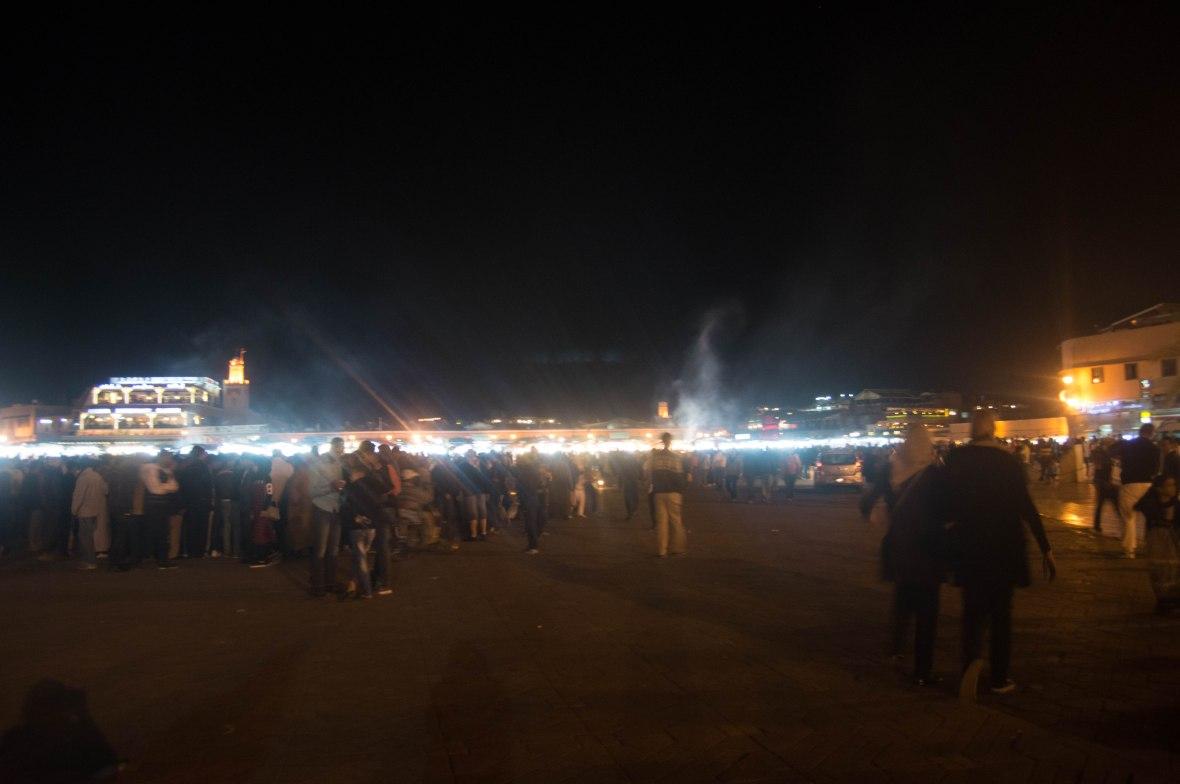 Jemaa El Fna, Nightfall, Marrakech, Morocco