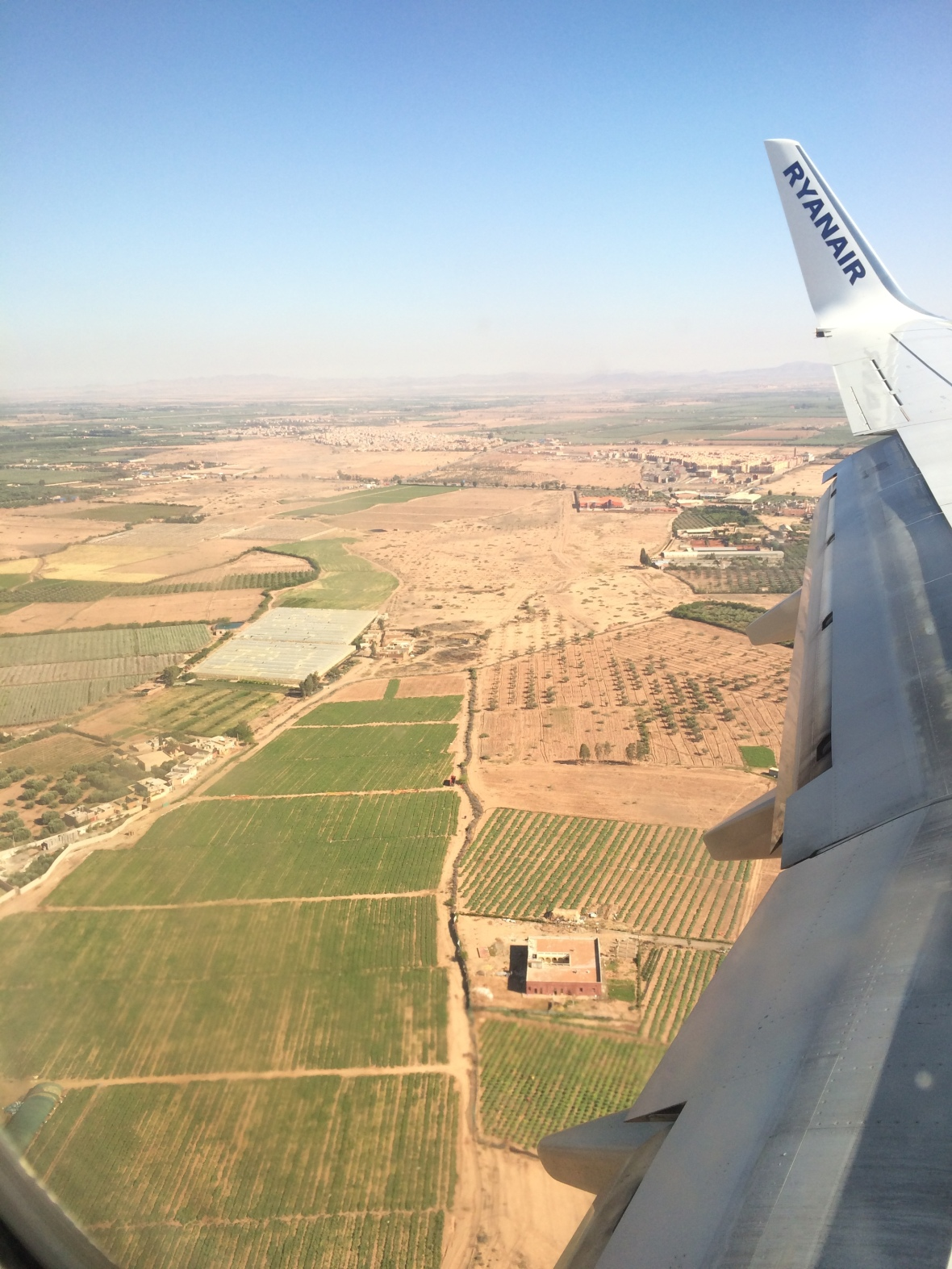 Landing In Marrakech, Morocco