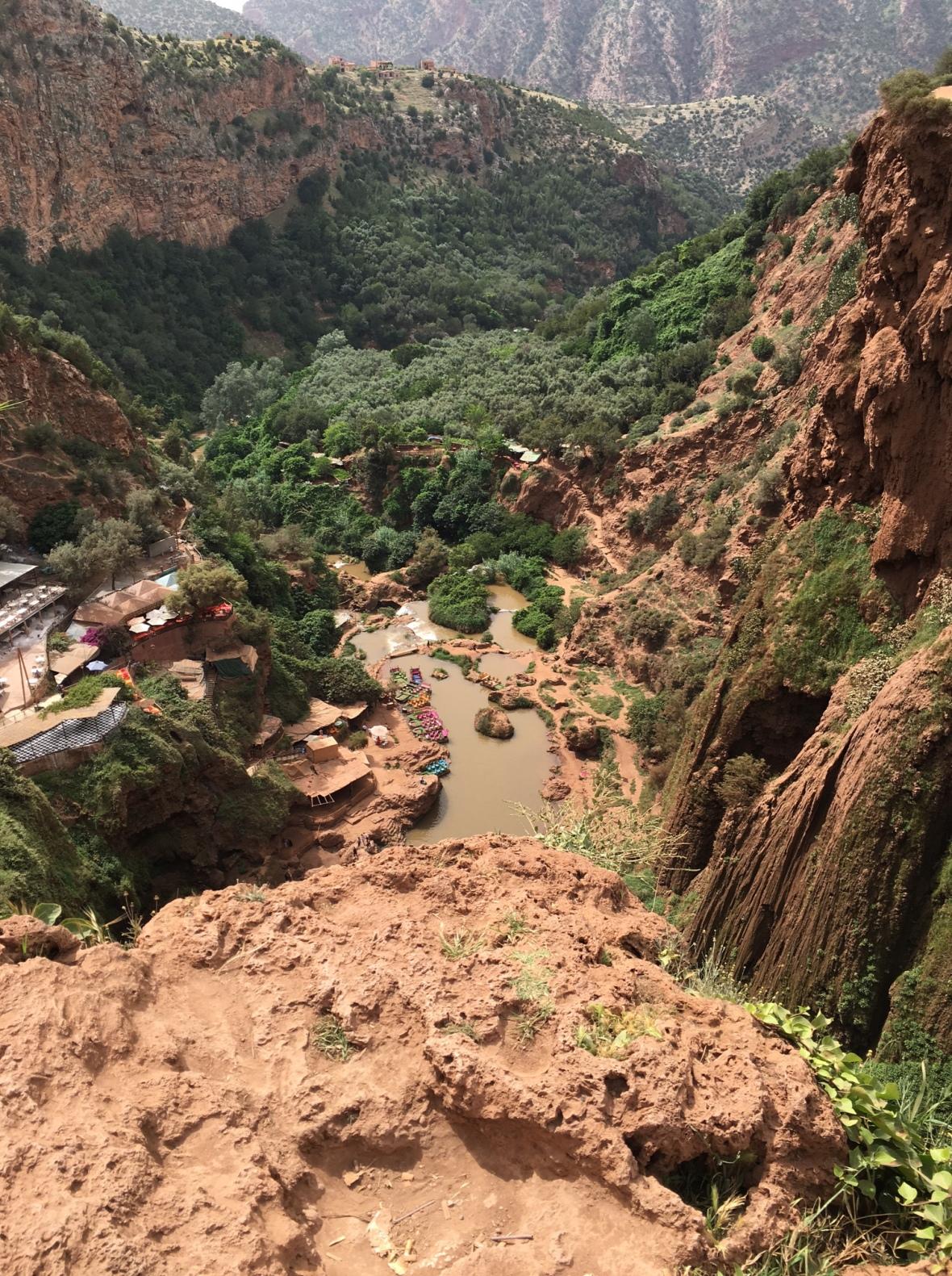 Landscape, Ouzoud Falls, Morocco