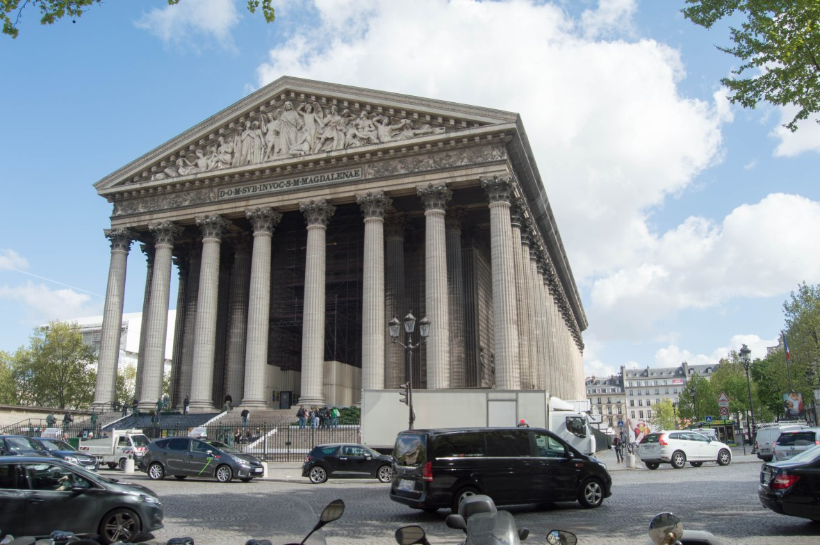 L'église de la Madeleine, Paris, France