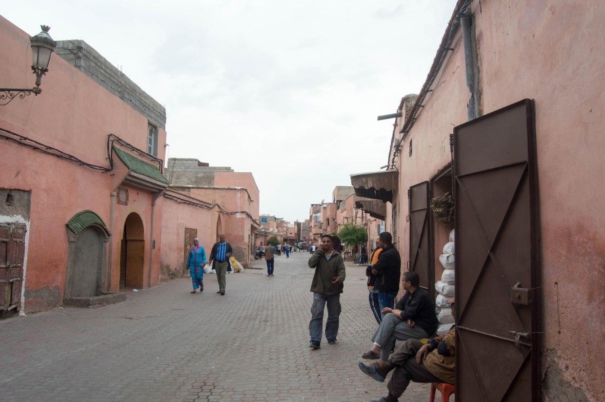 Locals, Marrakech, Morocco