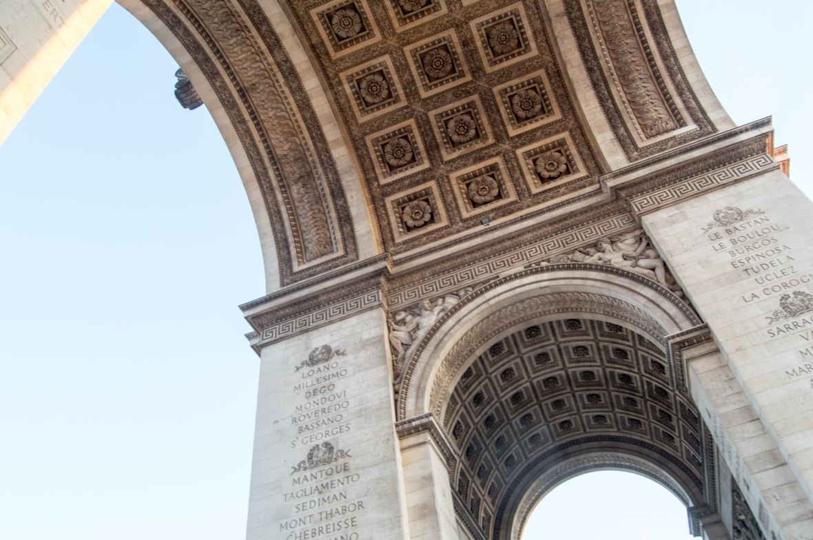 Looking Up, Arc De Triomph, Paris, France