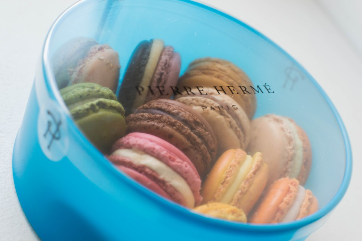 Macarons, Pierre Herme, Paris, France